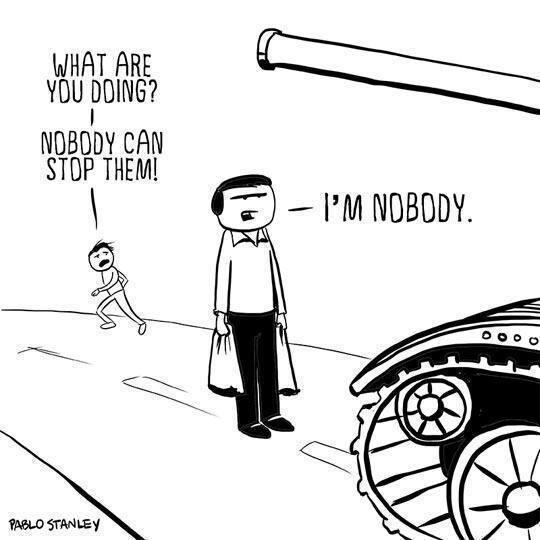 I'M NOBODY.